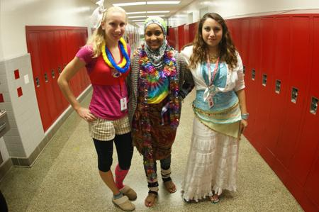 Students get crazy for Wacky Tacky Day