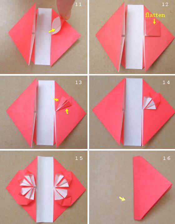 Как сделать оригами закладку уголок фото 915