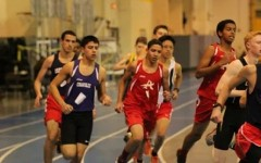 Track competes