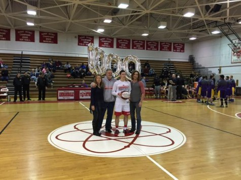 Austin Hall scores 1,000 points