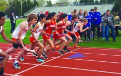 Girls track excels at last meet