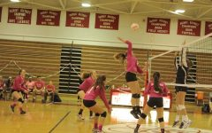 Volleyball grinding through a rough patch