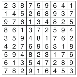 Sudoku Answer Key, Issue 5