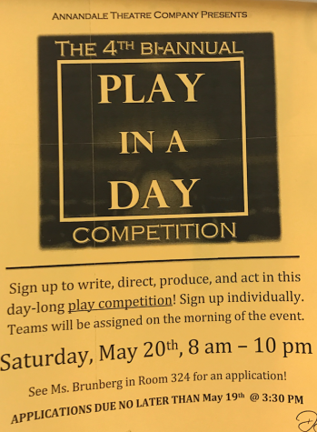 Annandale Theatre Company to host Play in a Day