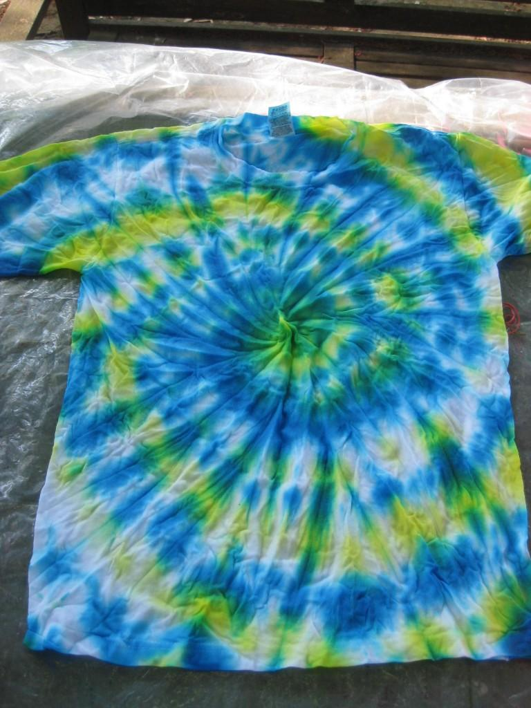 Tie-dye then and now