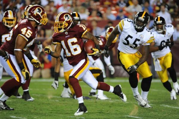 Redskins beat Steelers during the NFL Preseason