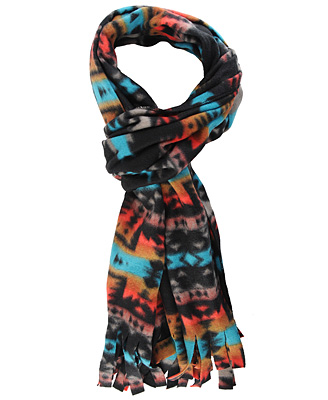 This printed scarf is both functional and affordable.