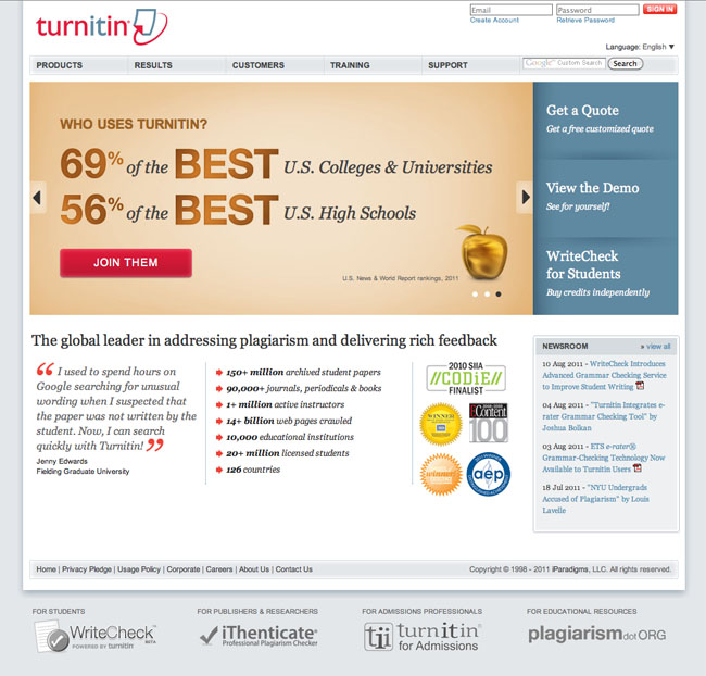 what is turnitin used for