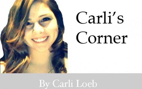 Carli's Corner: Struggling
