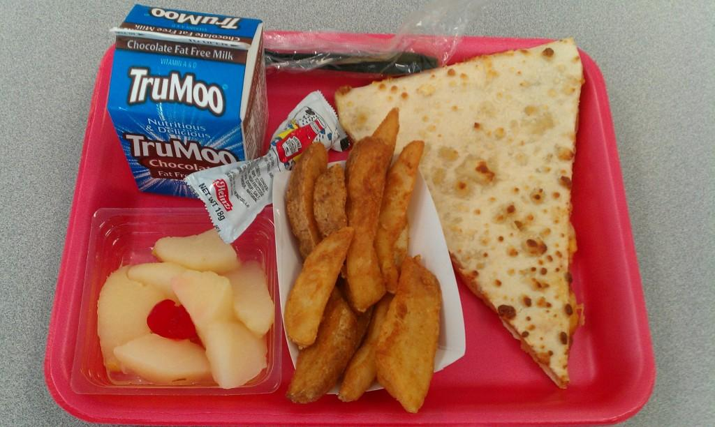 An average lunch at AHS