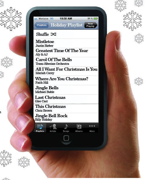 Holiday playlist suggestions