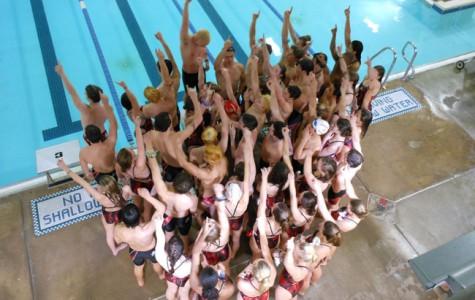 Swim and dive celebrates Senior Night