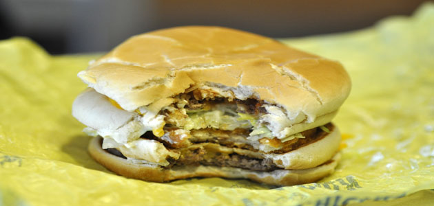 U.S. McDonald's restaurants specially offer upon request a combination of a Double Cheese Burger, and a McChicken sandwich.