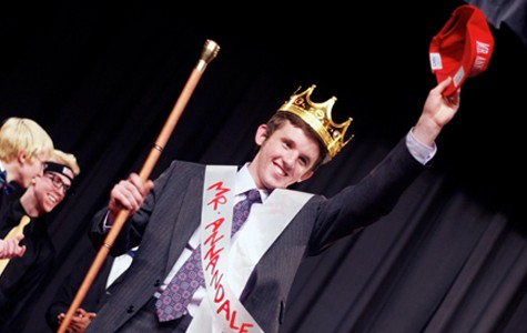 Jack Deible crowned Mr. Annandale 2012