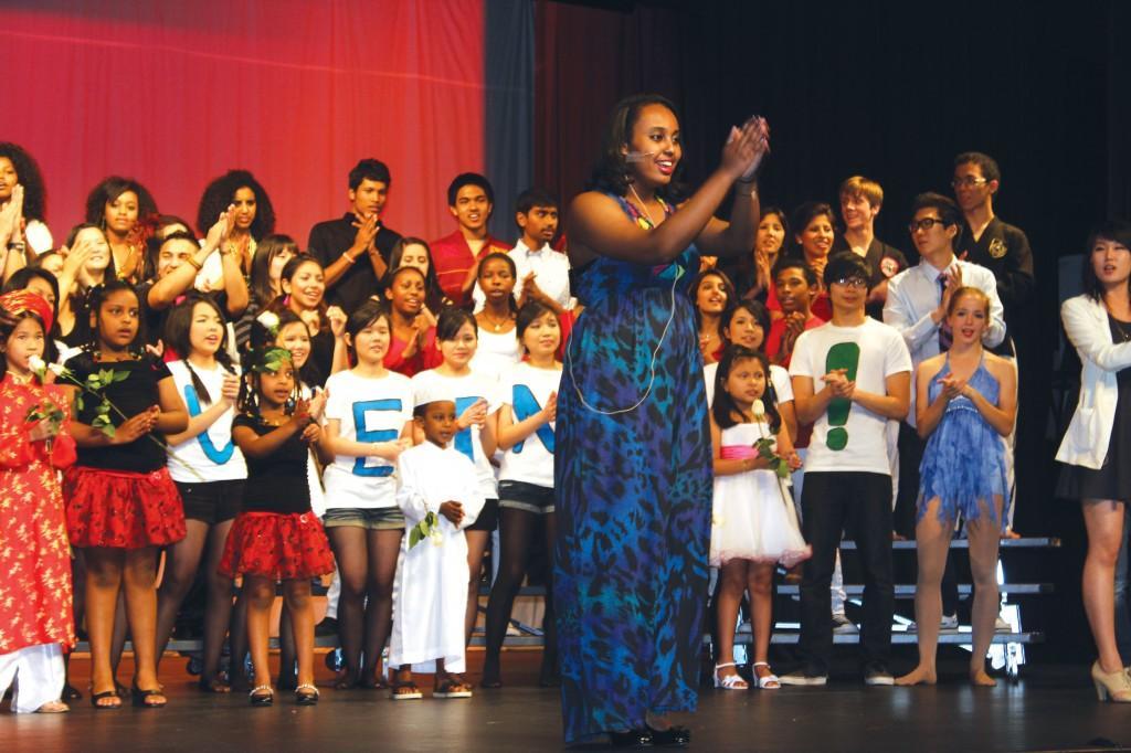 Students deliver cultural show