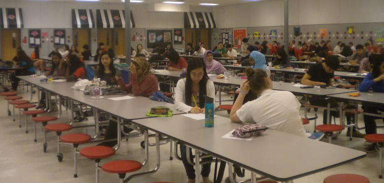 Math department holds junior varsity math meet and celebrates AMC high scorers