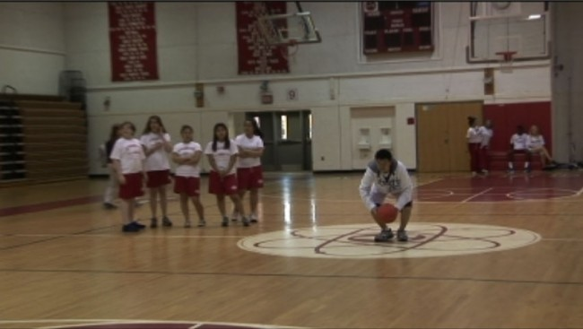 Student stuns crowd at halftime show