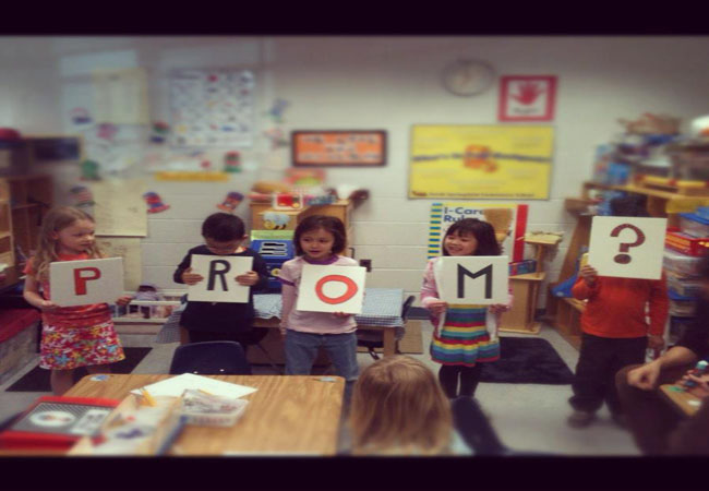 Students get creative with Prom proposals