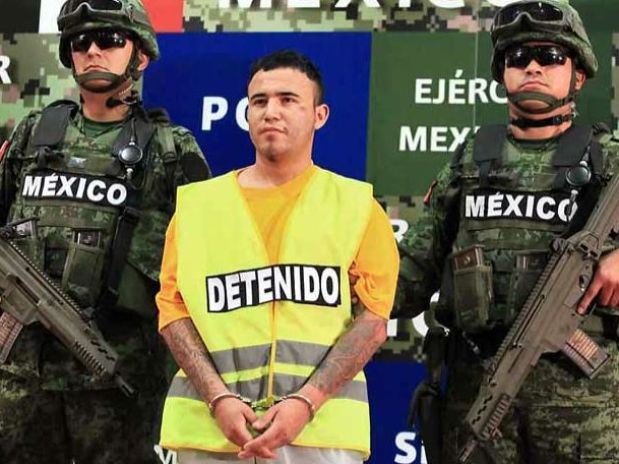 Student reaction to arrest in Mexico