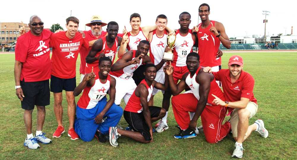 Track and field wins states