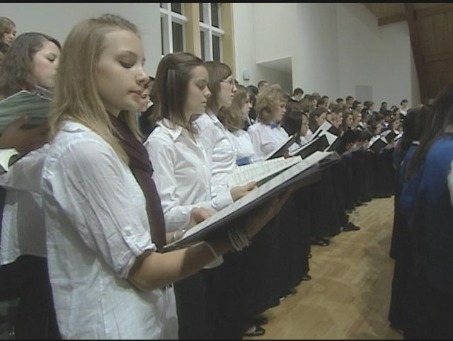 Students will house the German visitors, as well as perform with them in choir.