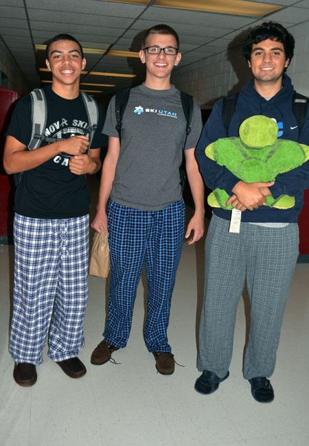 Spirit Week: Pajama Day