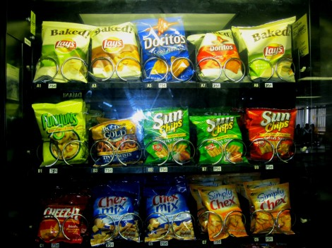 Several prices, such as those for snacks in vending machines, have increased since last year.