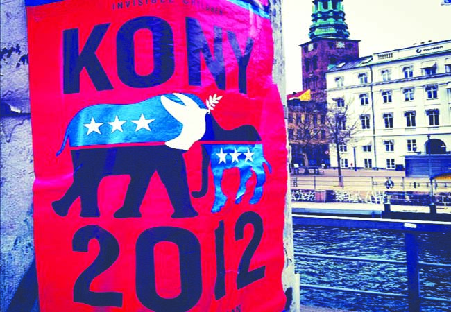 A picture submitted to Kony2012.com of Cover The Night.