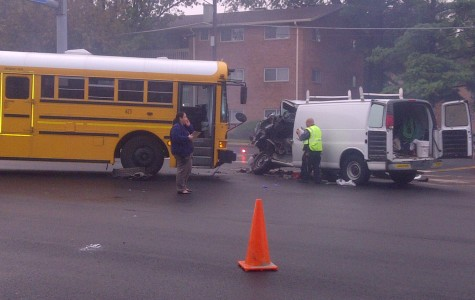 AHS school bus involved in crash
