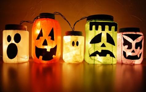 DIY: Halloween spirit jugs and monster jars