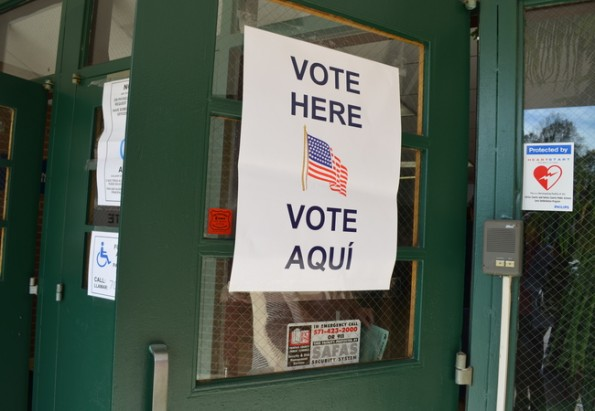 Several students voting affiliations may be influenced by parents and teachers opinions.