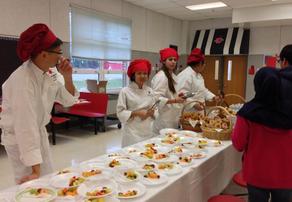 Students earn honor roll breakfast