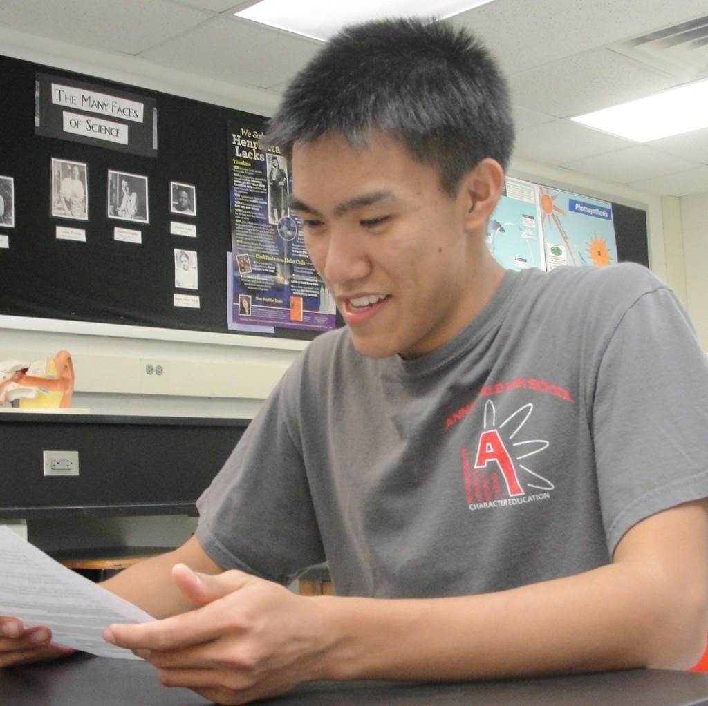 Captain Thien Mai leads the Itl's Academic! team.