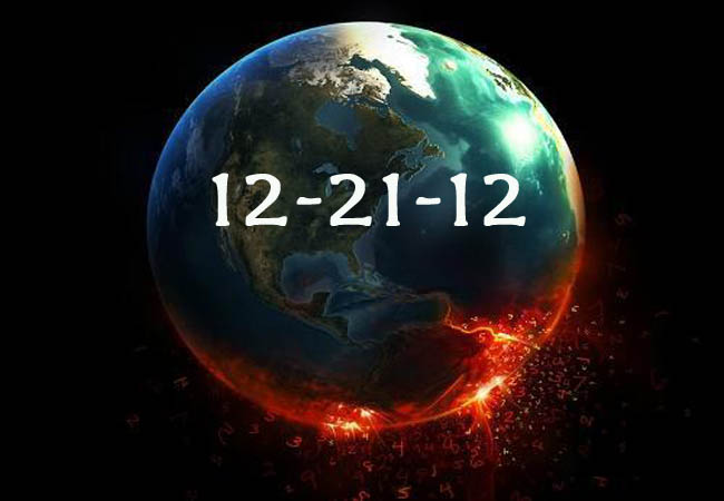Many people assume that the world will come to an end today due to the end of the Mayan calender.