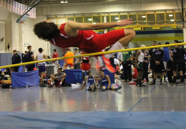Overview of Track Meet at Thomas Jefferson Rec Center