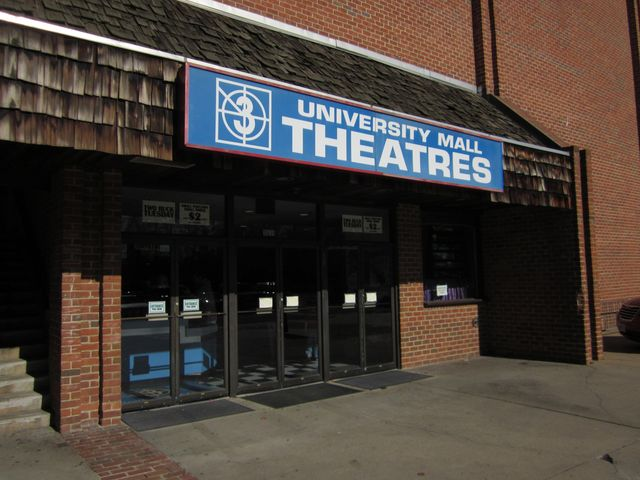 University Mall Theaters is a more affordable way to view movies in the Annandale area.