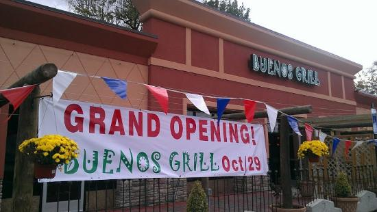 Buenos Grill is located right across from Silverado's in Annandale.