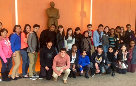 The Theater Without Borders program participates in a program in partnership with the Shakespeare Theater Company.