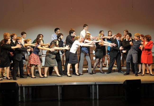 AHS students perform at last year's Broadway Desserts.