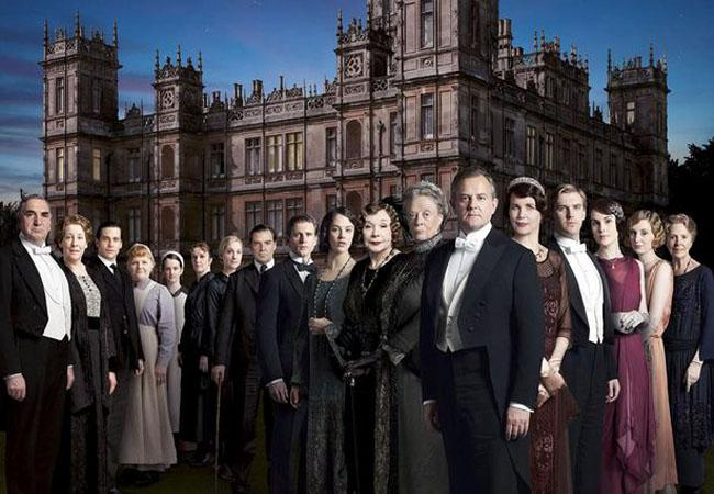 Downton Abbey is bloody brilliant