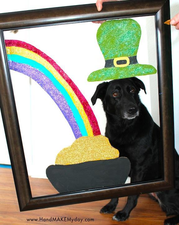 St. Patrick's Day photo frame