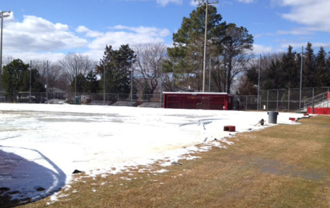 Snow affects practices and scrimmages