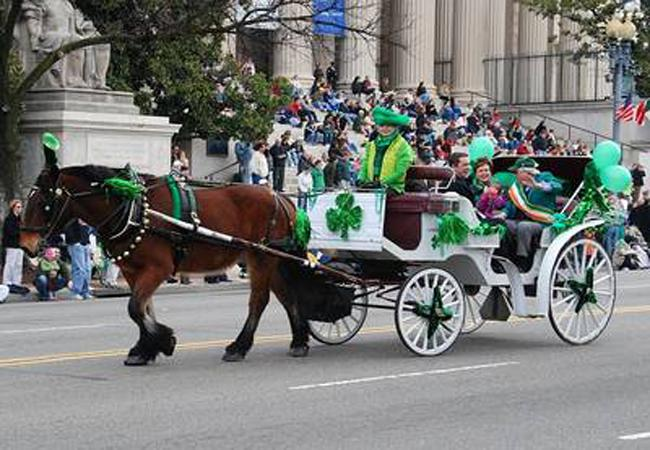 St. Patrick's Day Parade in D.C.