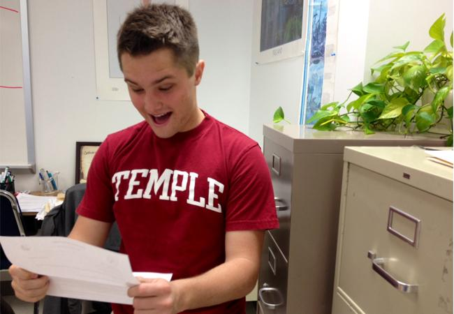 Seniors hear back from colleges