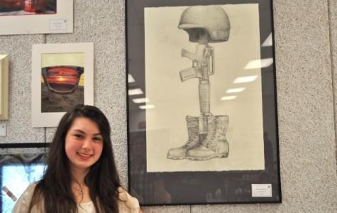 18 seniors display artwork prior to IB exams
