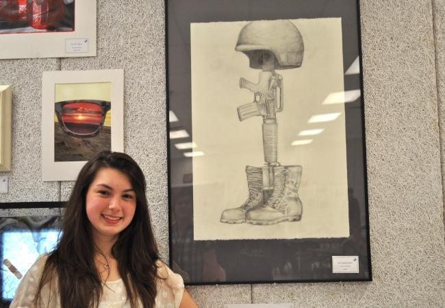 Senior Kelsey Pendergast dedicated