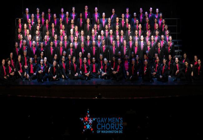 GSA attend Gay Men's Chorus fundraiser