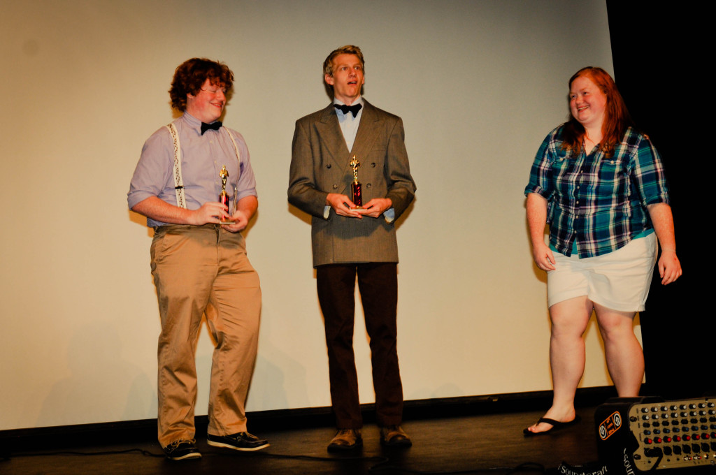 Directors Andy Riddle, Steve Aderton, and Jessica Riddle of