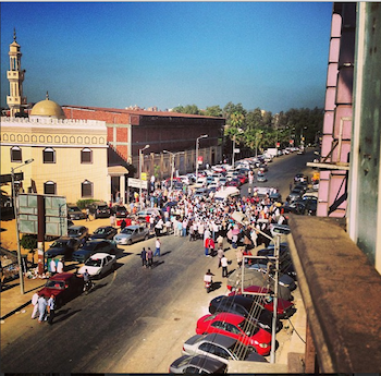 A student's first-hand account of the Egyptian protests