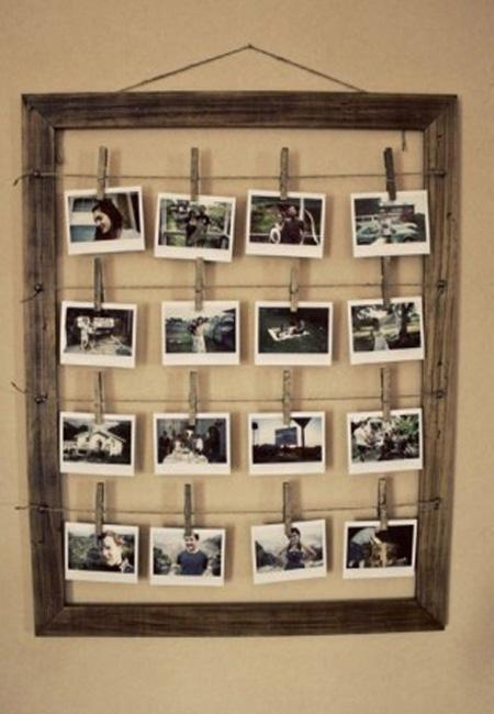 Space-saver+picture+frame+DIY